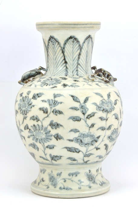 Blue and White Vase, Ming Dynasty - Hongwu Period