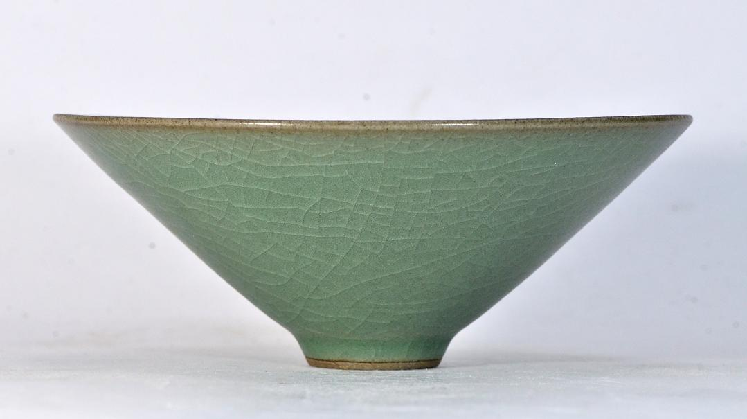 Green Conical Bowl, Song Dynasty