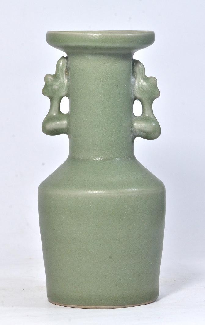Longquan Handled Vase of Southern Song Dynasty