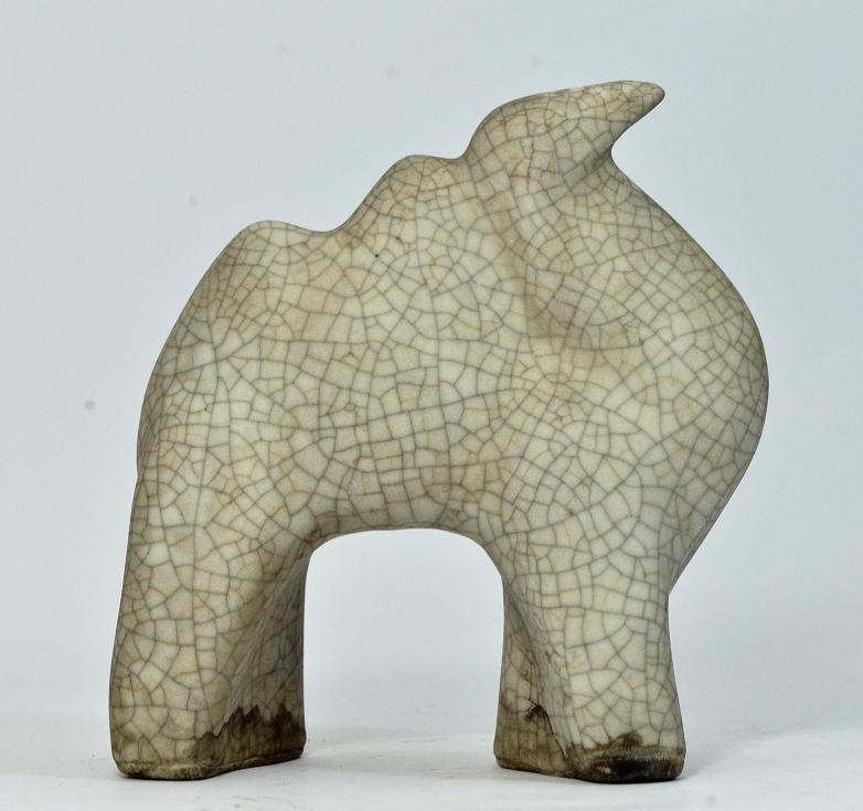 White Song Kiln Ware Camel Shaped