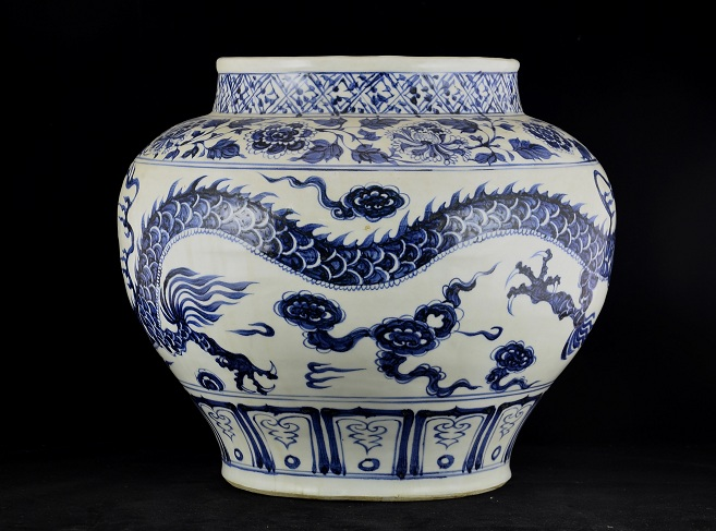 Yuan Dynasty, Dragon Jar